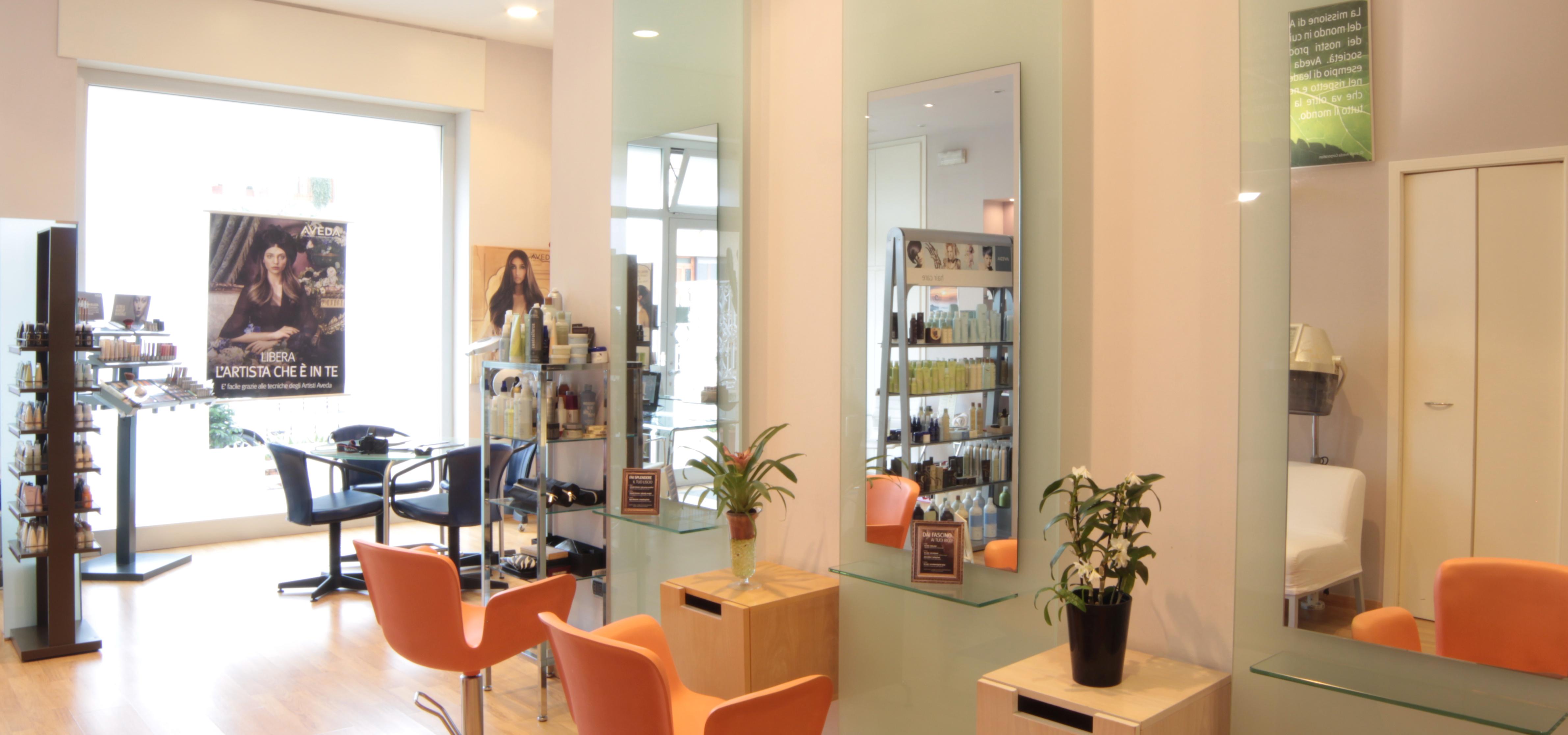 Dainami concept salon aveda salone parrucchiere a san for Acqua aveda salon